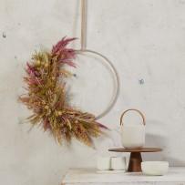 Trockenblumen-Set Rosa/Pink